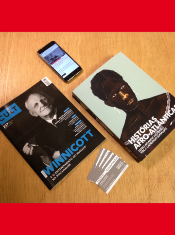 promoção assine cult impressa + digital + catálogo Histórias Afro-atlânticas